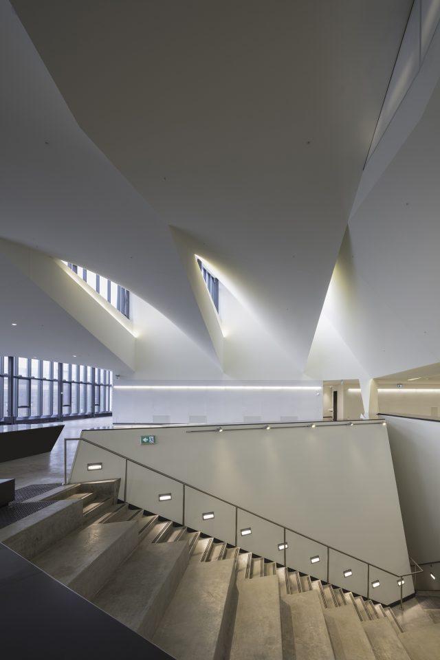 Interior view of Daniels Building, Toronto (NADAAA).