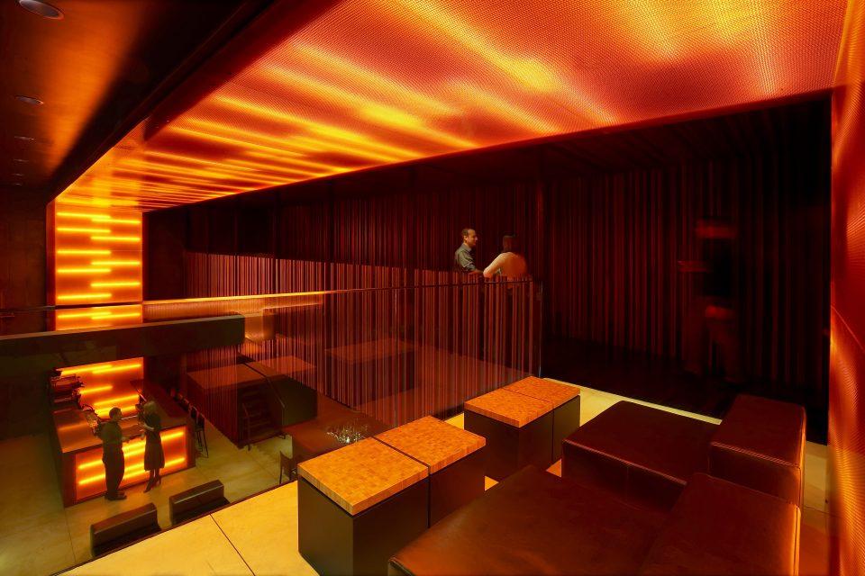 Interior view of Downtown Bar, Milwaukee (Johnsen Schmaling Architects)