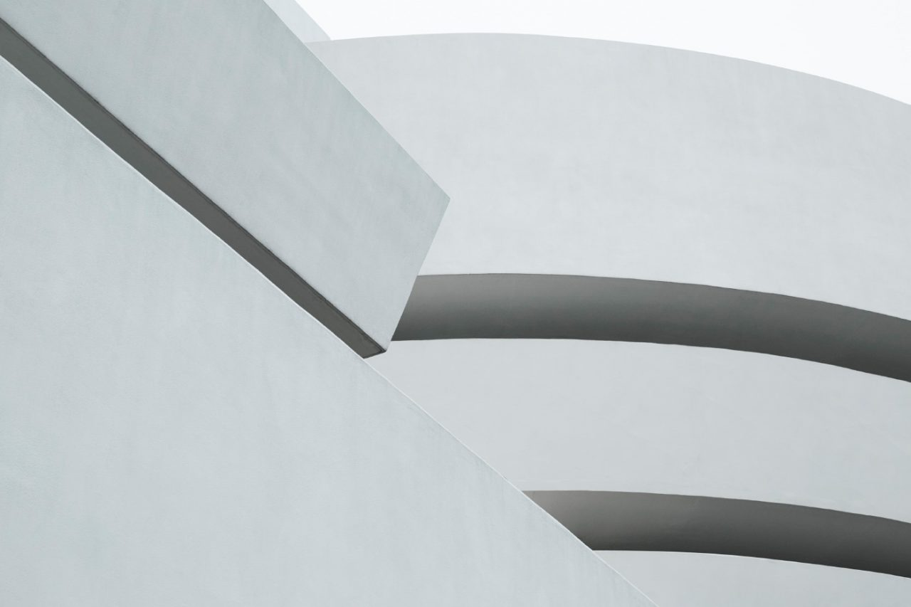 The top of the Guggenheim