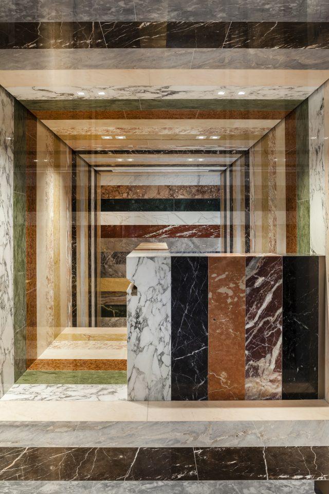 Interior view of Lindemann Residence, Miami (Shulman+Associates).