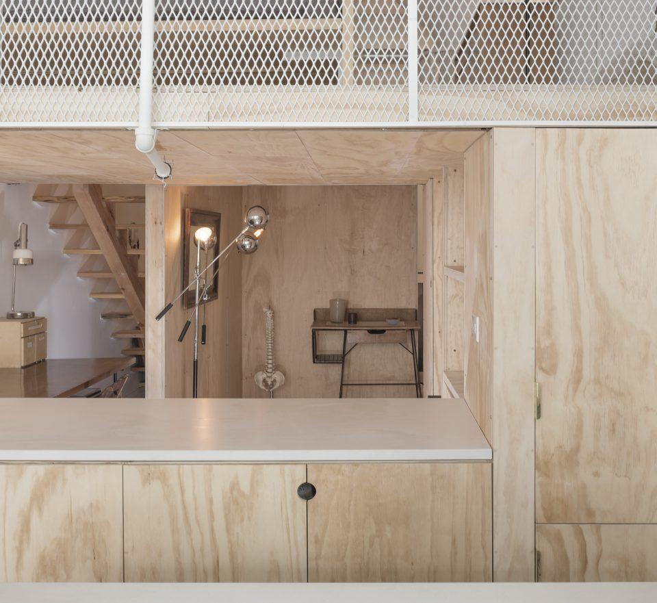 Interior view of Bed-Stuy Loft, New York (Michael Vahrenwald/Esto).