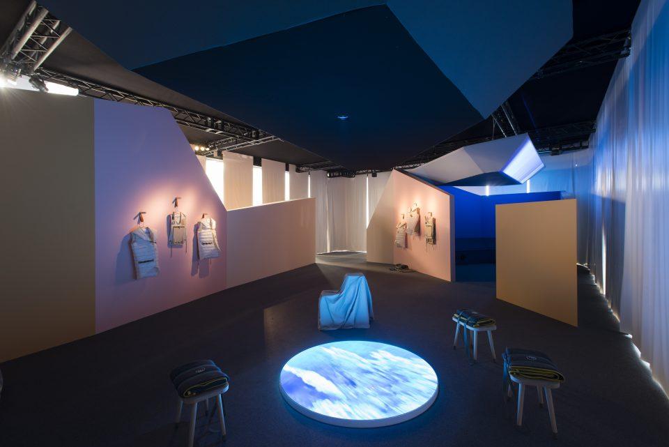 Interior view of The Water Cooler, Milan (Lorenza Mercuri/Studio O+A).