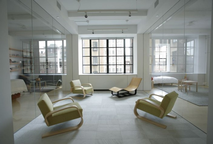 Interior view of Loft, New York (Toshiko Mori)