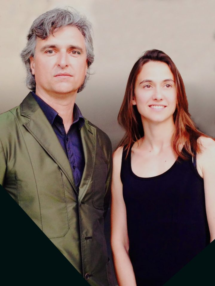Portrait photo of a man and a woman