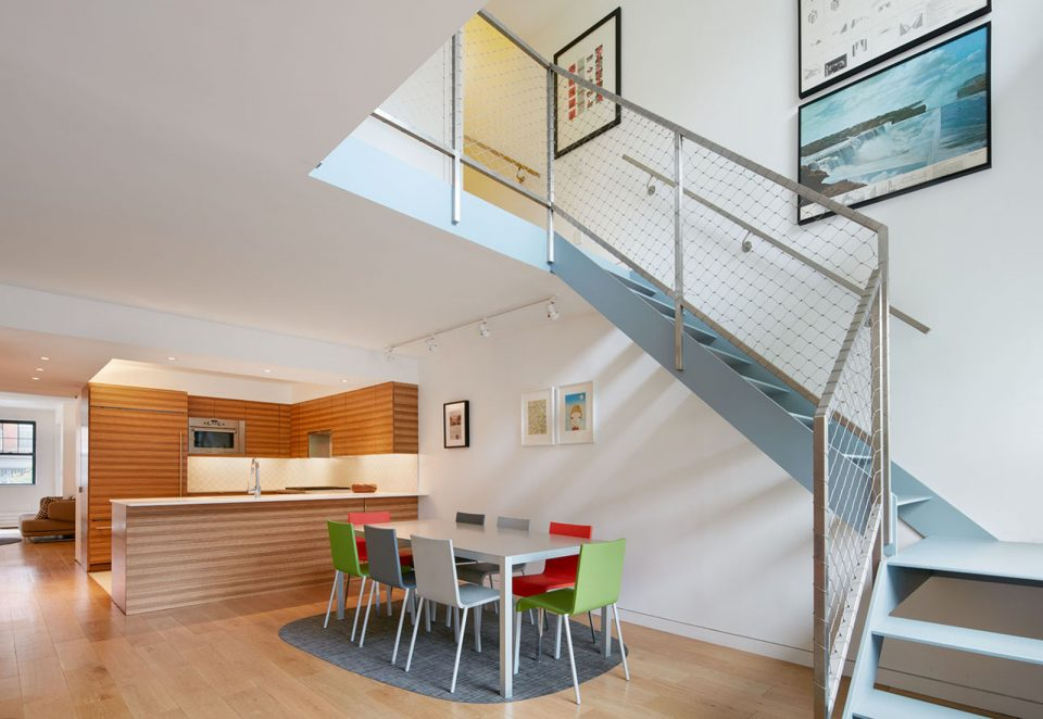photo of a staircase in an apartment