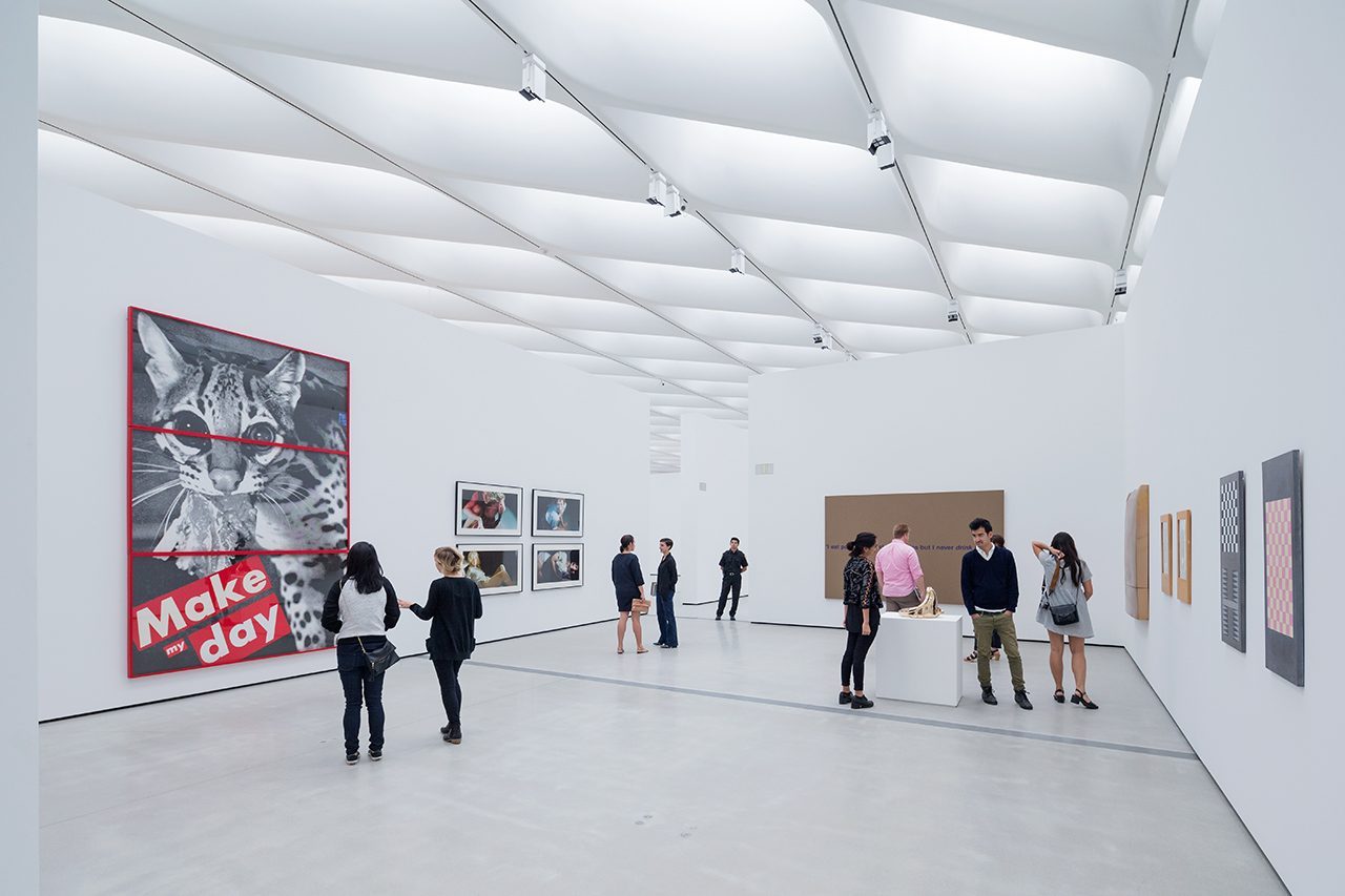 interior photo of The Broad museum