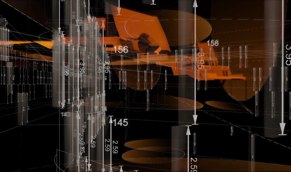 Digital capture of data from immersive installation