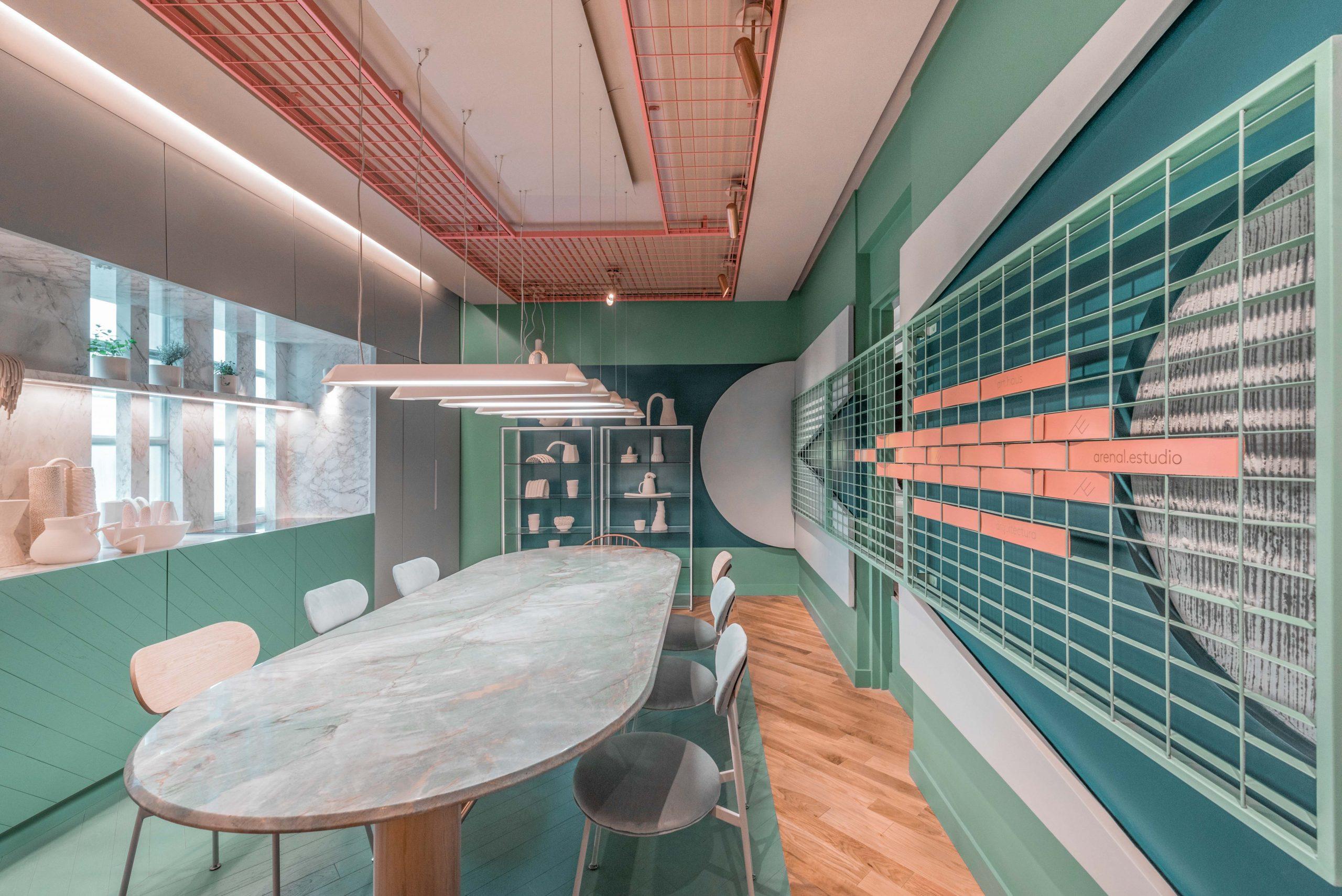 ART HAUS, interior space at Casa FOA.